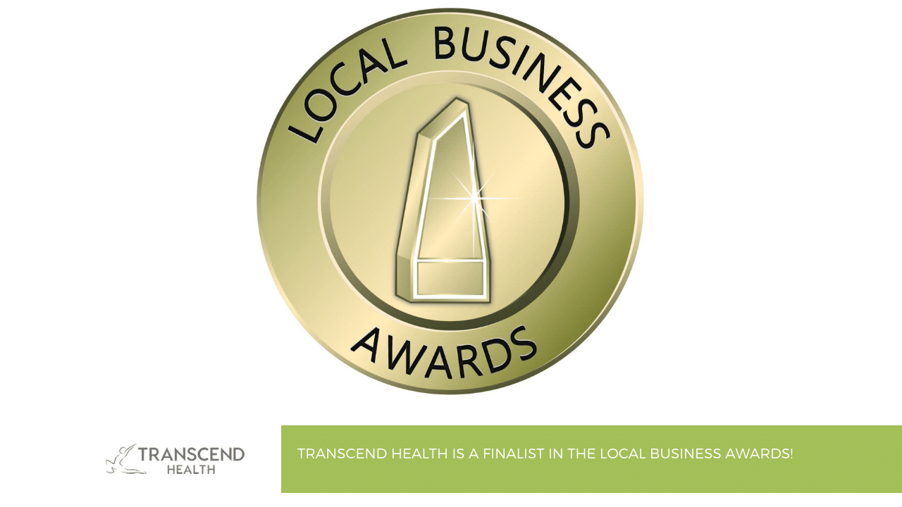 Transcend Health is a Finalist in the Local Business Awards! 9