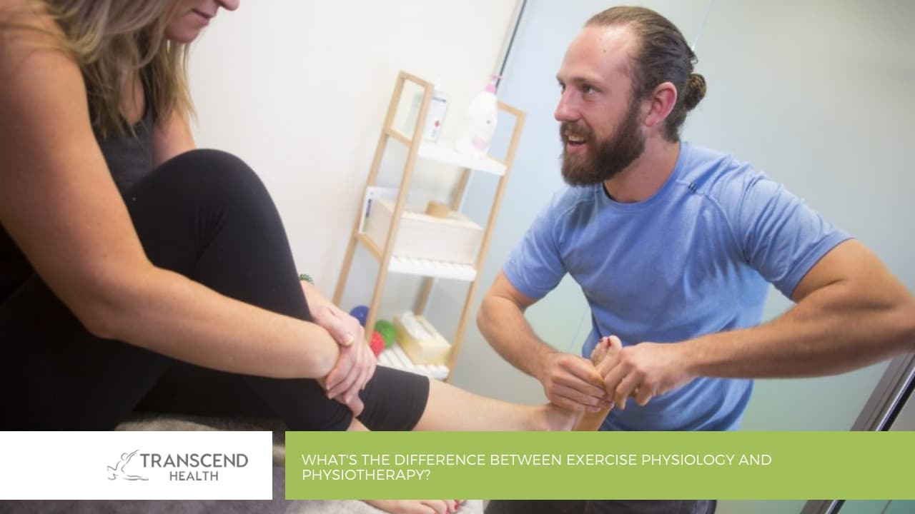 What's the difference between Exercise Physiology and Physiotherapy
