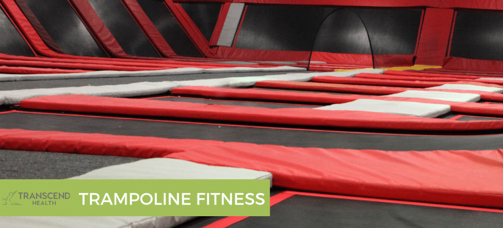 trampoline fitness couples